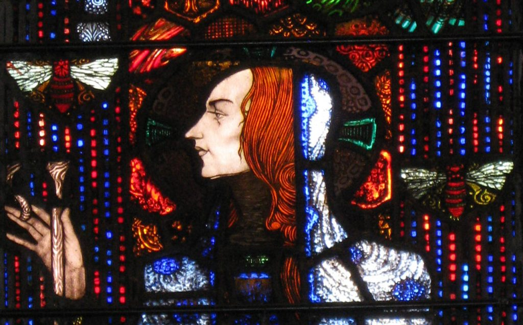 St Gobnait Harry Clarke Window