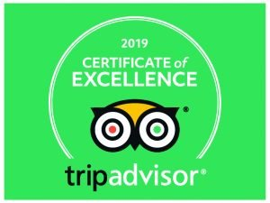 Tripadvisor Certificate of Excellence for our Meadery tour and tasting