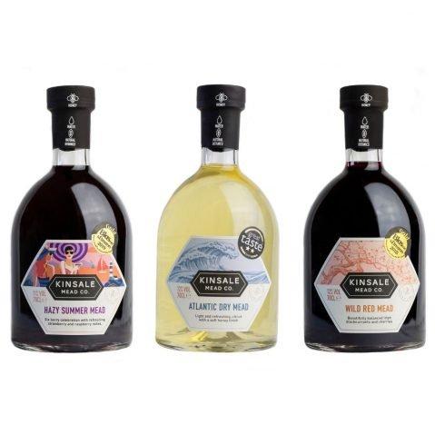 3 Bottles of Kinsale Mead