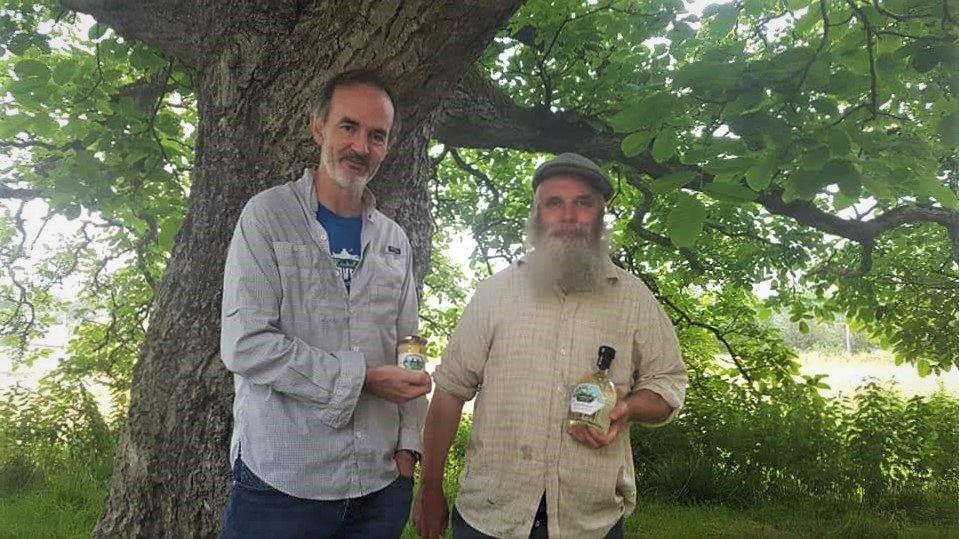 Denis and Paul Kelly Beekeeper