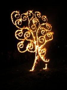Celtic bealtaine Festival Fire