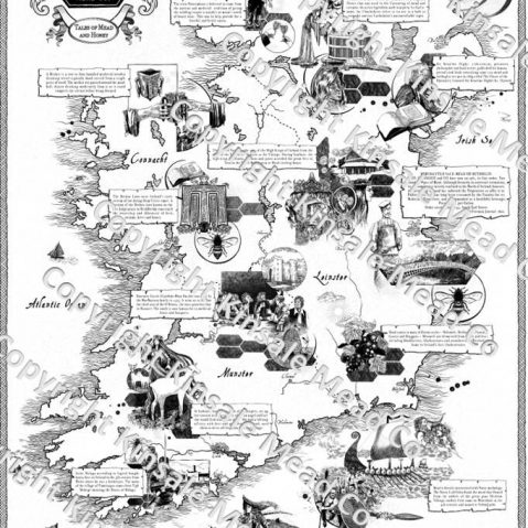 Mead Map Tales of Mead in Ireland