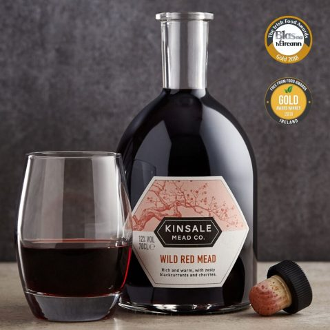 Blas na hEireann Gold Medal 2018 for Wild Red Mead
