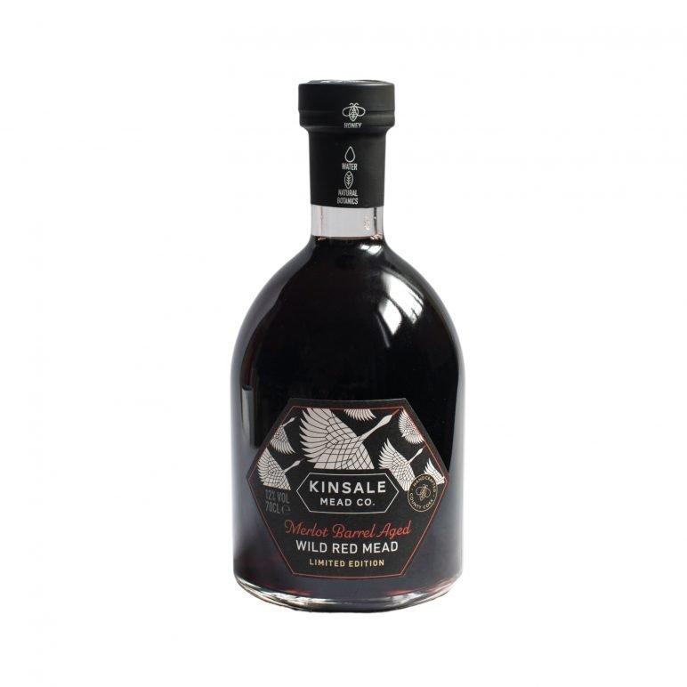Merlot Barrel Aged Mead Bottle Shot