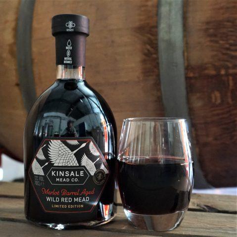 Kinsale Merlot Barrel Aged Wild Red Mead Bottle