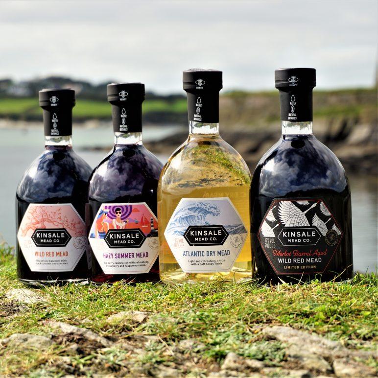 4 bottles of Kinsale Mead