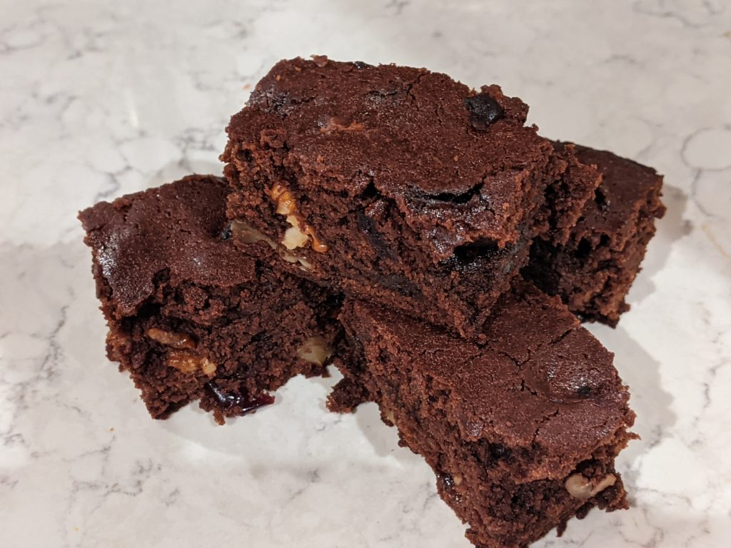Boozy Mead and Chocolate Brownie