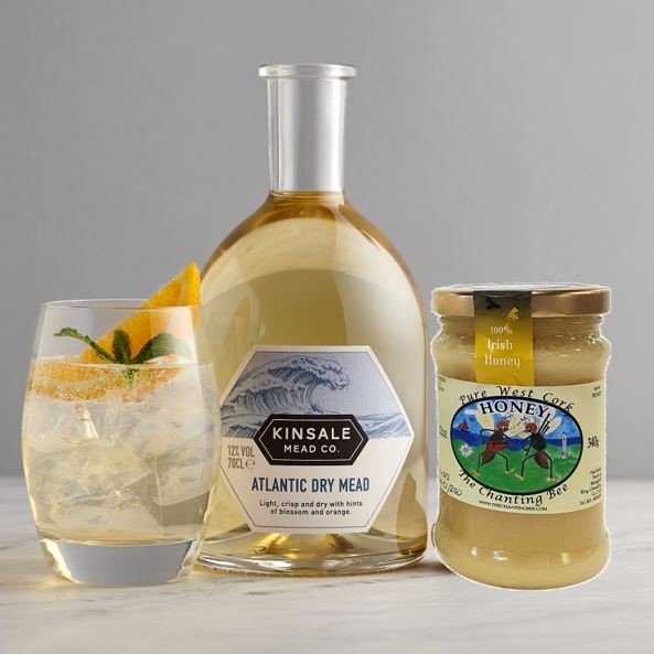 Kinsale Atlantic Dry Mead and West Cork Honey