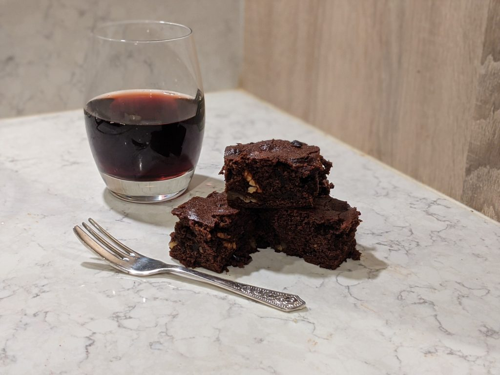 Mead and Chocolate Brownie