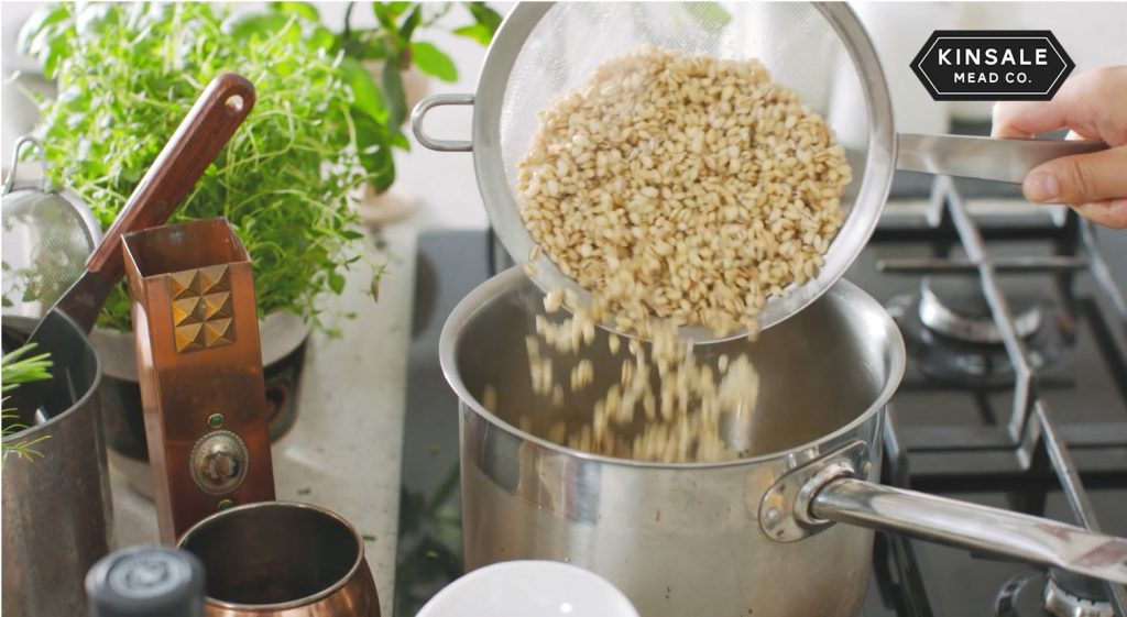 Pearl Barley with Wild Red Mead