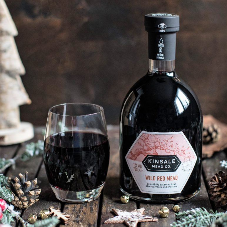 Kinsale Wild Red Mead for Christmas