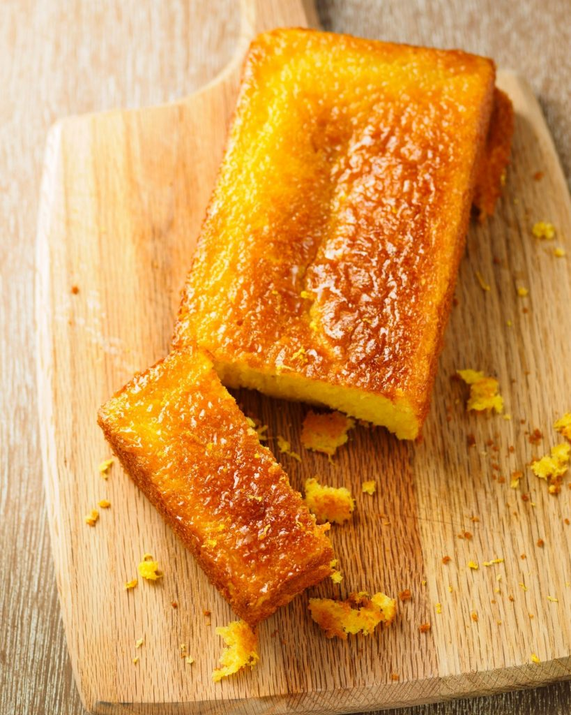 Orange Drizzle Cake with mead