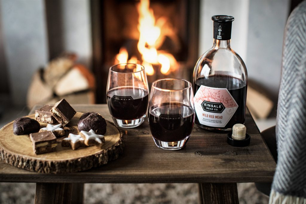 Wild Red Mead and boozy chocolate brownies