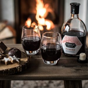 Kinsale Wild Red Mead paired with chocolate