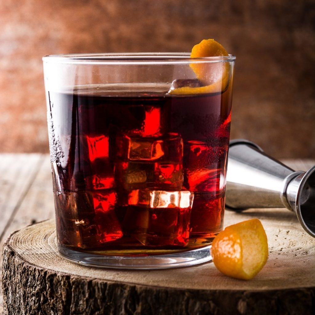 Mead Boulevardier Cocktail recipe