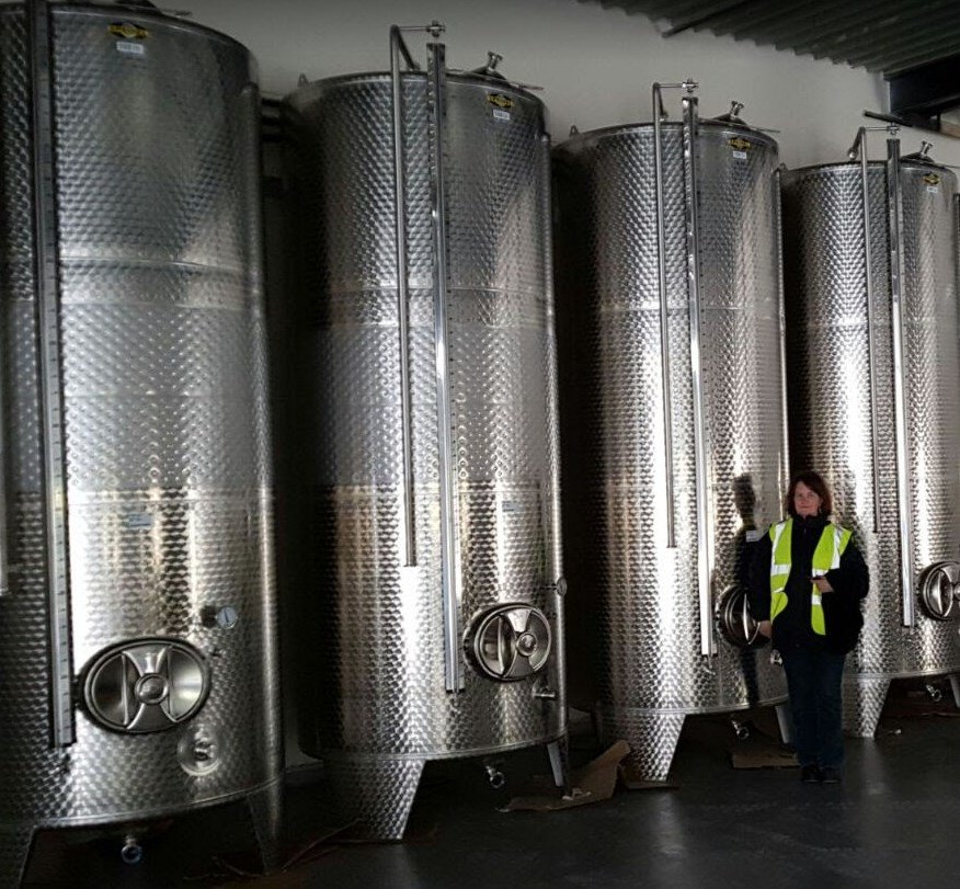 Kate and new tanks