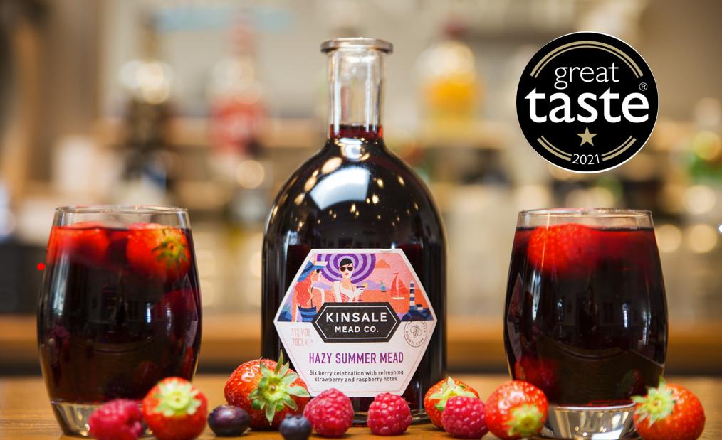 HAzy Summer Mead Great Taste Award