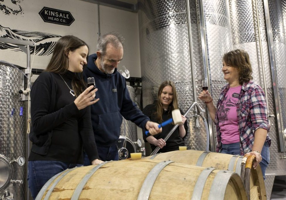 Kinsale Mead Co at the Barrel in the meadery